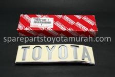 Emblem Toyota Belakang Original Hardtop FJ40