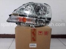 Head Lamp Lh Original Harrier